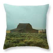 Oldest Barn In The Country Throw Pillow