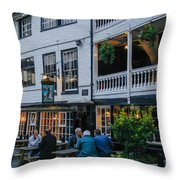 Oldest Coaching Inn In London Throw Pillow
