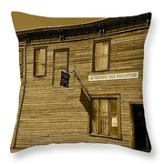 Oldest Drug Store 2 Throw Pillow