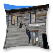 Oldest Drug Store Throw Pillow