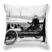 Oldfield & Ford, 1902 Throw Pillow