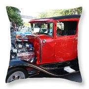 Oldie But Goodie - Classic Antique Car Throw Pillow