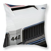 Olds Cutlass 4-4-2 Throw Pillow