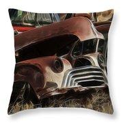 Oldsmobile 40s Throw Pillow