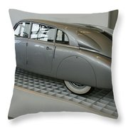 Oldtimer Tatra T87 Throw Pillow