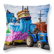 Ole Man River Throw Pillow