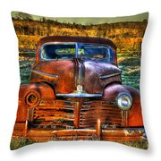 Ole One Eye Throw Pillow