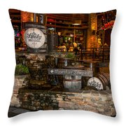 Ole Smoky Tennessee Moonshine Holler Throw Pillow