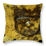 Ole Yeller Throw Pillow