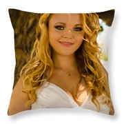 Olga 6 Throw Pillow