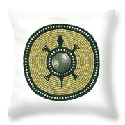 Olive Turtle 041106 Throw Pillow
