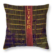 Oliver Twisted Throw Pillow