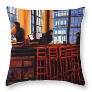 Oliver's Throw Pillow