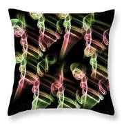 Olympic Ambition Throw Pillow