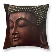 Om Mani Padme Hum  - Buddha Throw Pillow