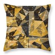 Omg Modern Triangles II Throw Pillow