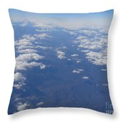 On A Clear Day You Can See Miles Away Throw Pillow
