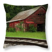 On A Tennessee Back Road Throw Pillow