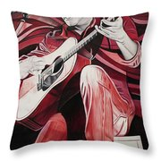 On Bended Knees Throw Pillow by Joshua Morton