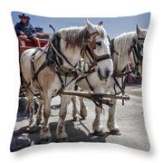 On Break Throw Pillow