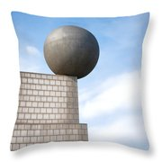 On Edge Throw Pillow