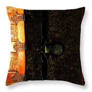 On End Throw Pillow