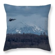 On Final Throw Pillow