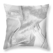 On Her Wedding Day Throw Pillow