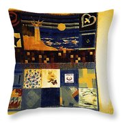 On My Bedroom Wall Throw Pillow
