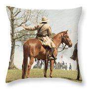 On My Command Throw Pillow