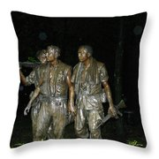 On Patrol Throw Pillow