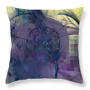 On Psychic Energy Throw Pillow