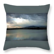 On Reflection Throw Pillow