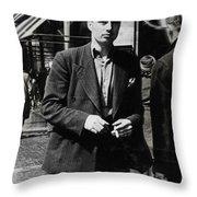 On Regent Street Throw Pillow