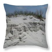 On Sand Island Throw Pillow