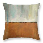 On Solid Ground Throw Pillow