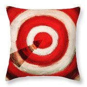 On Target Throw Pillow by Don Hammond