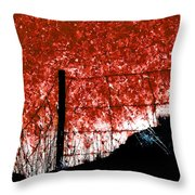 On The Abyss Throw Pillow