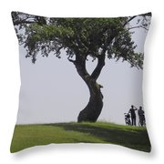 On The Banks Of The Baltic Sea Throw Pillow by Heiko Koehrer-Wagner
