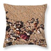 On The Beach 02 Throw Pillow