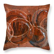 On The Bubble Throw Pillow