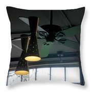 On The Ceiling Throw Pillow