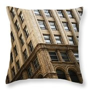 On The Corner Throw Pillow