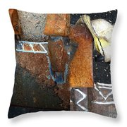 On The Corrode Again Throw Pillow