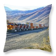 On The Downside Throw Pillow