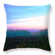 On The Edge Of A Storm Throw Pillow