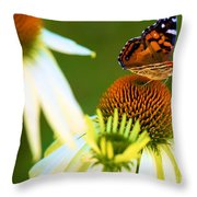 On The Edge Of Glory Throw Pillow