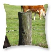 On The Farm Throw Pillow