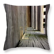 On The Fence Throw Pillow