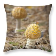 On The Forest Floor Throw Pillow